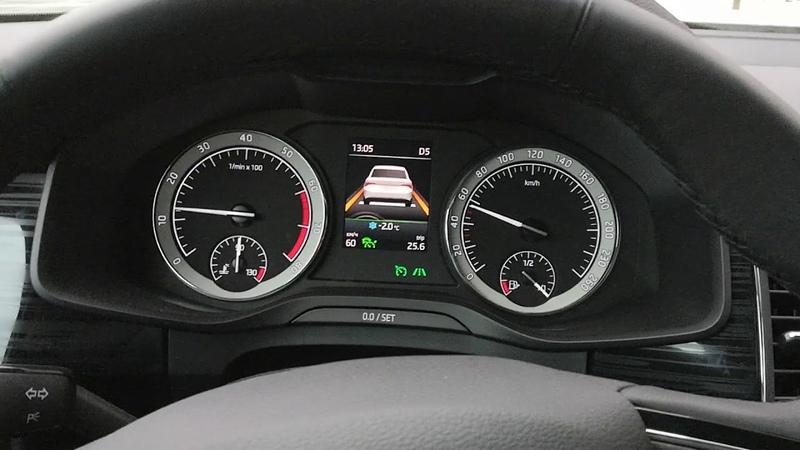Traffic Jam Assist Skoda Kodiaq PetranVAG