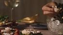 Ужин с черной икрой - Dinner with black caviar