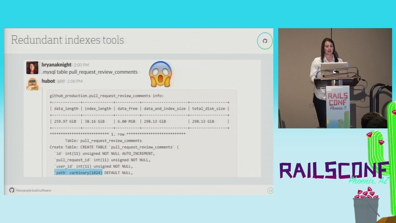 RailsConf 2017: The Secret Life of SQL: How to Optimize Database Performance by Bryana Knight
