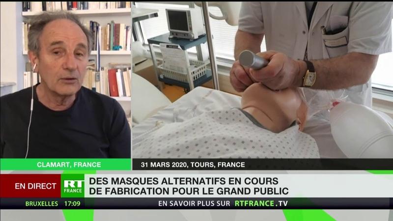 Coronavirus «Il est évident que les gens devraient sortir masqués», selon Jean-Paul Hamon