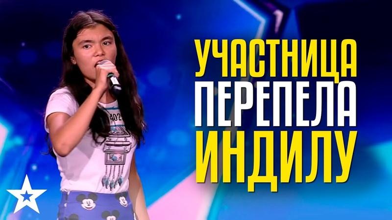 Indila - Dernière Danse Cover Томирис Бекмурзина, 13 лет из Нур-Султана поёт на французском!