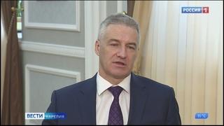 Артур Парфенчиков выступил с официальным обращением к жителям Карелии