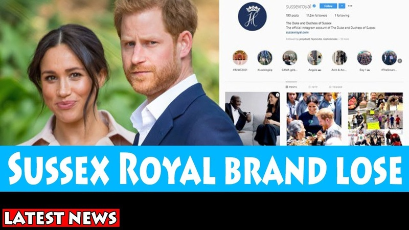 Sussex Royal brand lose Meghan and Harry 50% earnings