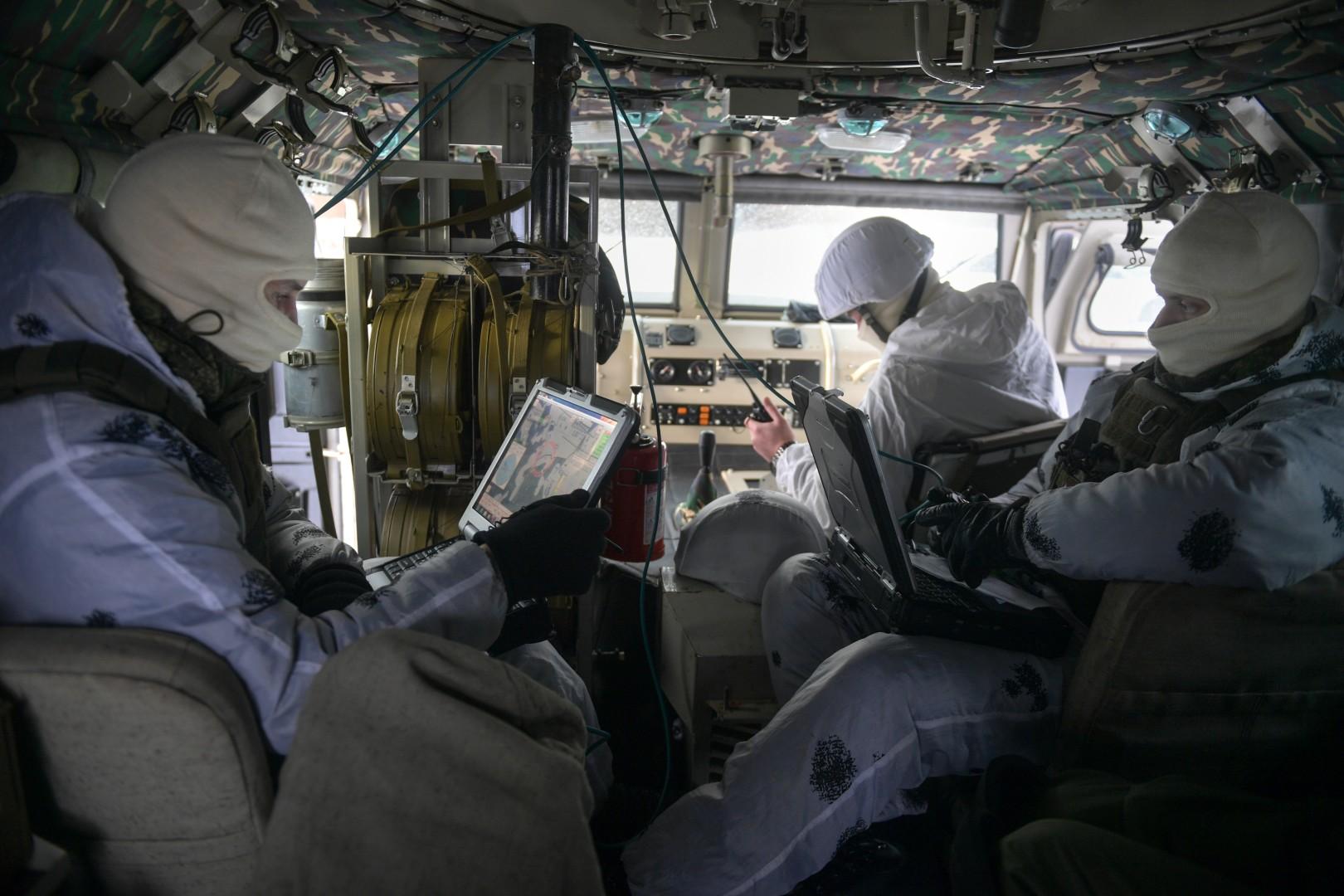 Работа с навигационной системой (GPS), изображение №1