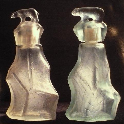 Флакон использовался для одеколона «Север» и выпускался в течение 80 лет!