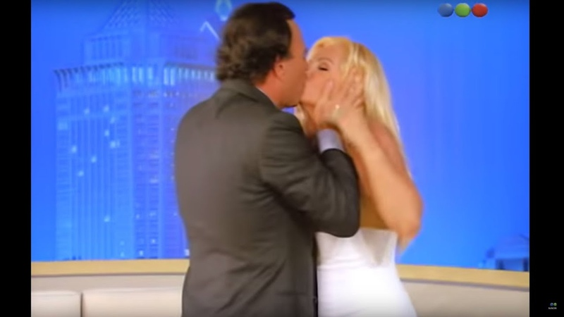 Susana recibe a Julio Iglesias y se lleva una gran sorpresa Susana Gimenez 2005