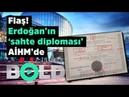 Flaş Erdoğan'ın 'sahte diploması' AİHM'de