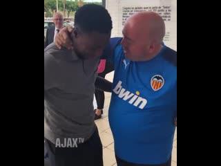 Промес встретился с бывшим тренером Спартака перед матчем с Валенсией