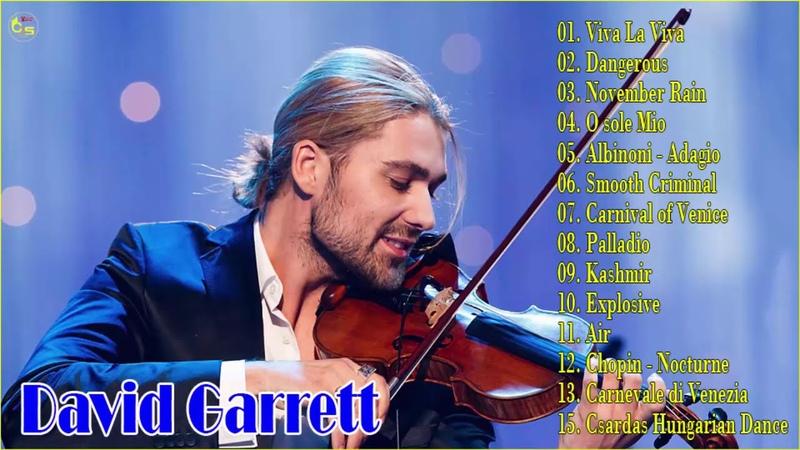 Best songs Collection David Garrett 2019 - David Garrett best violin music