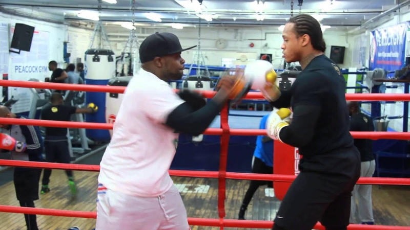 ANTHONY YARDE INTENSE PADS SESSION WITH PRECISION CONTROL