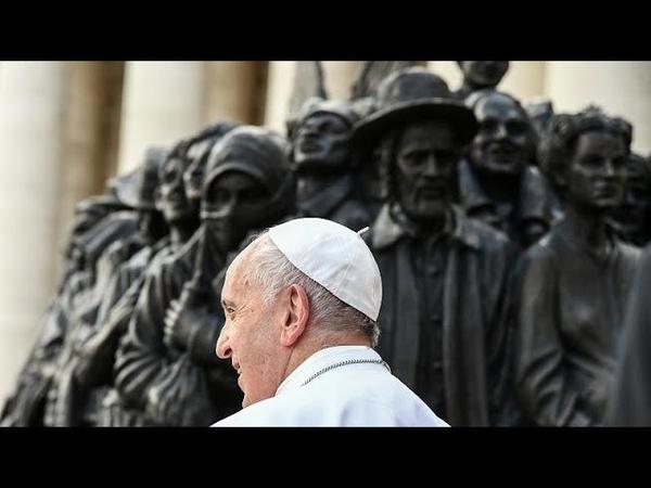 Le pape François lance un nouvelle appel en faveurs des migrants