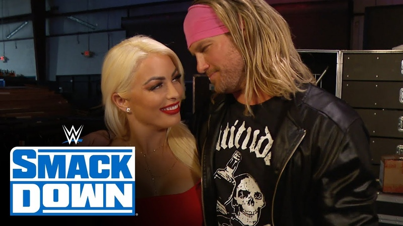 Dolph Ziggler calms Mandy Rose's nerves as tensions with Otis escalate SmackDown March 27 2020