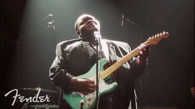 "Christone Kingfish"" Ingram Covers I Put A Spell On You"" Vintera Series Fender"