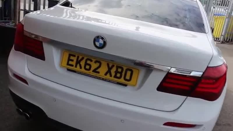 BMW 730D M Sport Finished In Alpine White At Rix Motor Company
