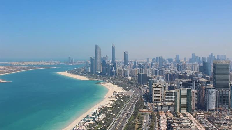 ОАЭ Абу Даби Набережная Корниш из отеля The St Regis Abu Dhabi