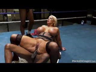 Alura Jenson – Blacks On Cougars [DogFart Network. Anal, Big Ass, Big Cock, Big Tits, DP, Group Sex, MILF, Stockings]