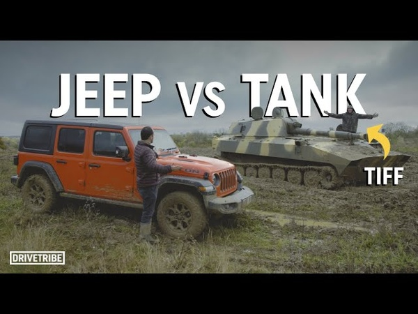 Can a Jeep beat Tiff Needell in a tank Off road race