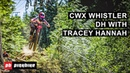 Tracey Hannah Three Peats at Crankworx Whistler DH Embedded EP14