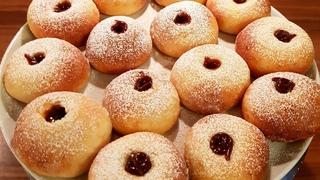 Творожные пончики в духовке, очень пышные и вкусные