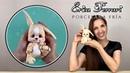 🐶 Erica Ferrari Porcelana Fría | Dulce Conejo | Cute Bunny | Clase Gratis | DIY | Tutorial Fácil