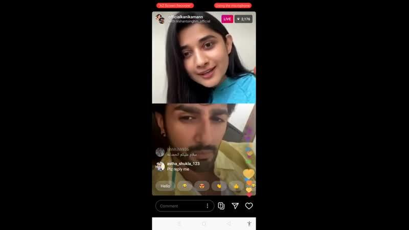 Kanika_Mann_Live__Video_Talk_With_FansSay_JokesCorona_For_Get_Safety_Advices