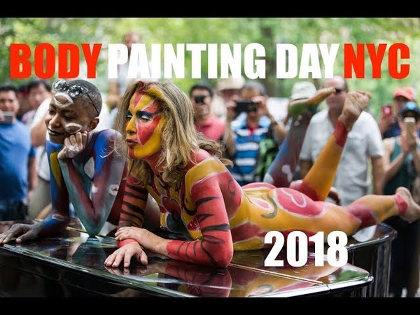 Bodypainting DAY NYC 2018 Uncensored New York City ART