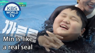 News | Min is like a real seal [Stars' Top Recipe at Fun-Staurant/ENG/]