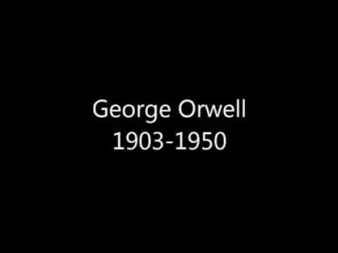 George Orwell 1903 1950 eine letzte Warnung das ist schon gruselig