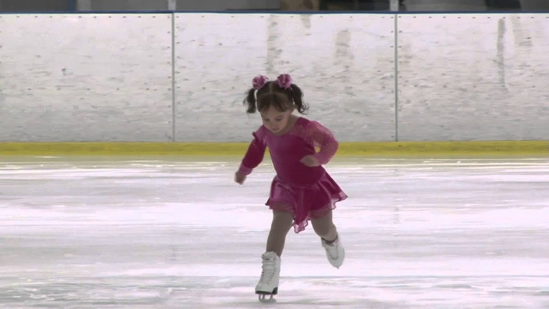 3 yr old Brynn Cartagena magnolia Ice Skate Competition 2014