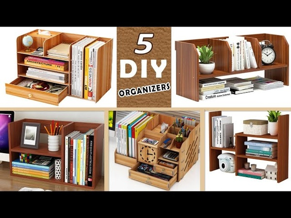 5 DIY FANTASTIC IDEAS ORGANIZERS Wood decor circuits with dimensions in the video