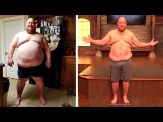 Мужчина похудел на 89 кг. Удивительная трансформация тела!