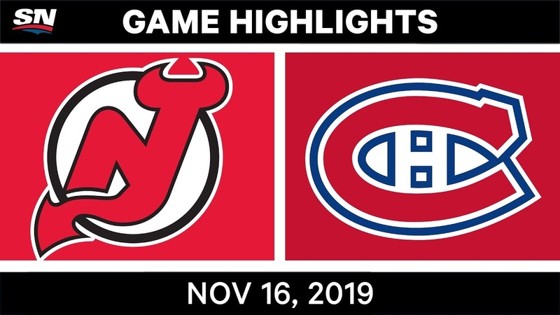 NHL Highlights | Devils vs Canadiens - Nov. 16, 2019