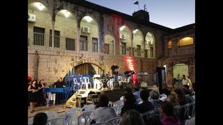 A concert in the Saraya. Summer 2014, Safed
