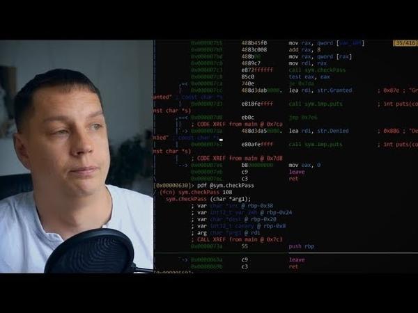 Перезапись буфера на стеке Stackoverflow Защита Stack Canary Протекция стека