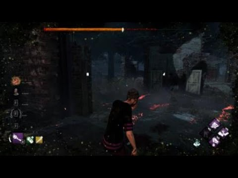 Dead by Daylight stomping a gnome