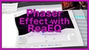 Phaser Effect with ReaEQ - REAPER DAW Tutorial