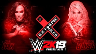 WWE 2K19 Universe Mode - Extreme Rules. ALEXA vs NIA (Русская озвучка) #46