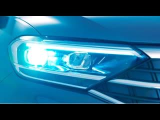 Светодиодные фары и задние ходовые огни в НОВОМ Volkswagen Polo