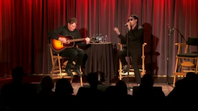 Marilyn Manson Tyler Bates Fall of the House of Death The Grammy Museum 2015