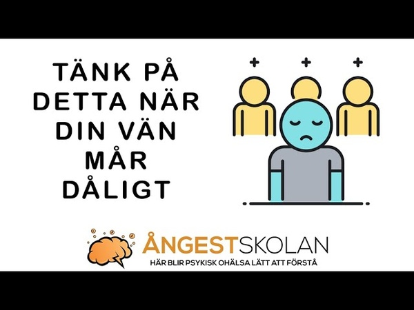 TÄNK P DETTA NÄR DIN VÄN M R D LIGT ngestskolan