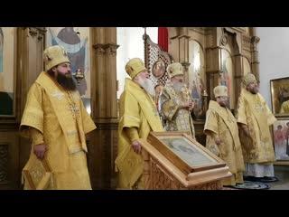 Столетие викариатства. Божественная литургия