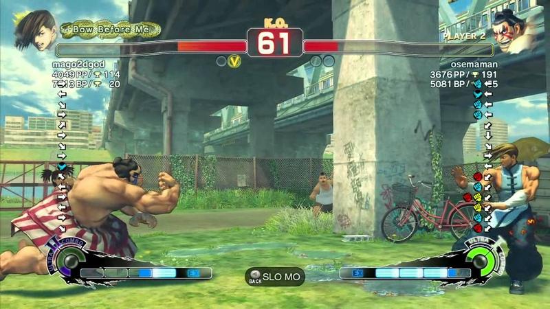 SSF4 AE Mago Yang vs Namameso Honda Ranked Match 720p HD