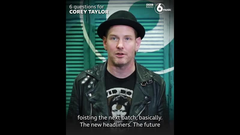 Some surprising recommendations from Slipknot's lead vocalist BBC Radio 6 Music