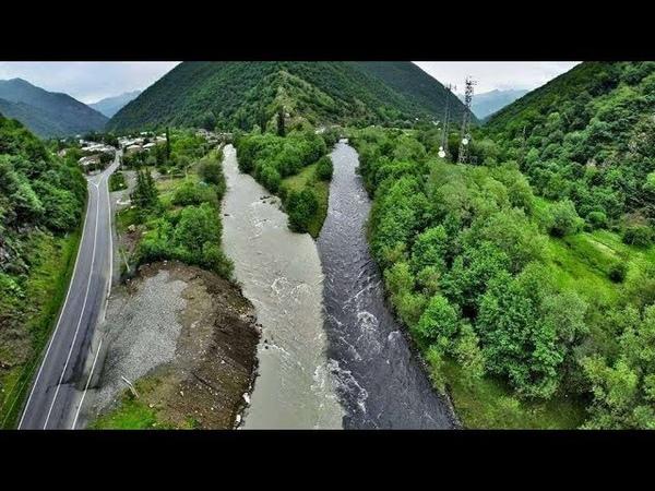 Топ-10 рек Грузии. საქართველოს ტოპ-10 მდინარე