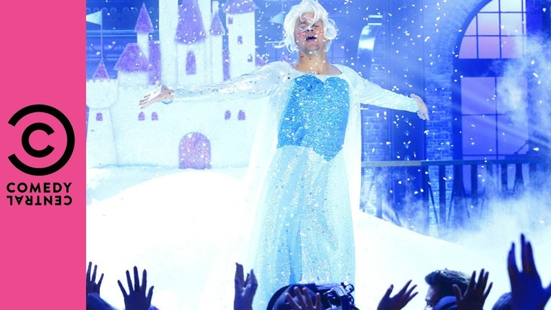 Channing Tatum Performs Frozen's Let It Go Lip Sync Battle