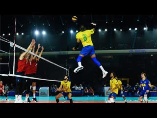 Volleyball king - yoandy leal in brazil national team - vnl 2019 (hd)