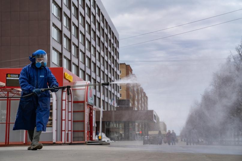 К дезинфекции города подключилась частная компания, изображение №3