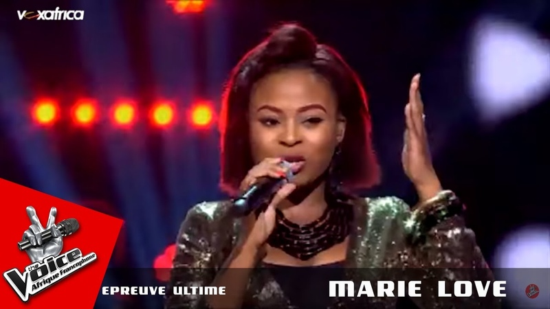 Marie Love Greatest love of all Whitney H. Epreuve ultime The Voice Afrique francophone 2016