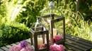 DIY декоративные фонари из фоторамок из Фикс-Прайса