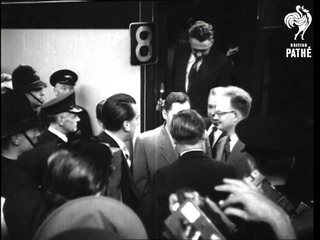 Andrei Gromyko Russian Ambassador Arrives In London (1952)